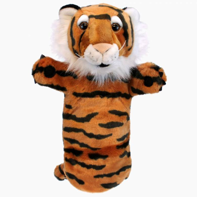 Tiger - Long Sleeved Glove Puppet