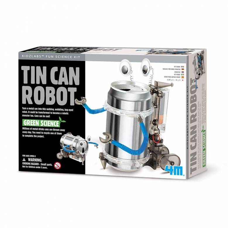 Tin Can Robot - Kidz Robotix 8+