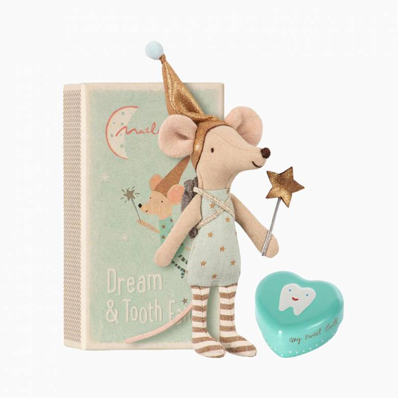 Tooth Fairy Big Brother Mouse With Box By Maileg 0+
