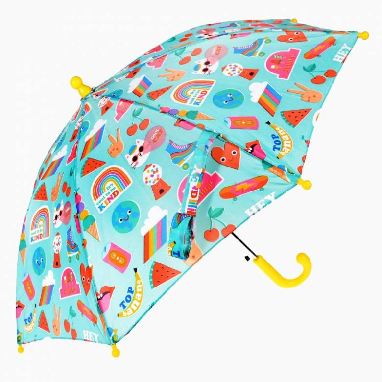 Top Banana Print Children's Umbrella