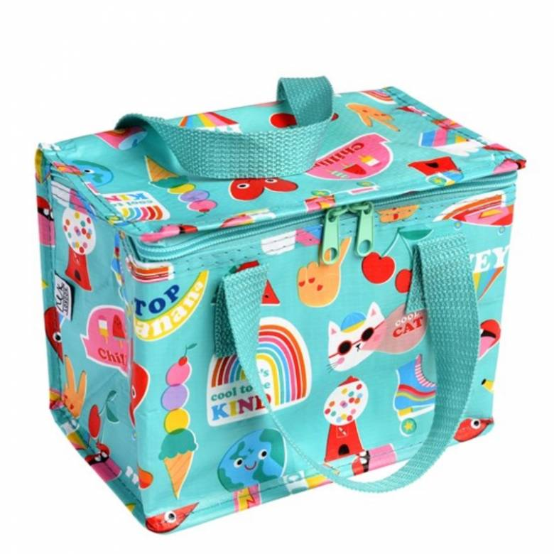 Top Banana Print Insulated Lunch Bag