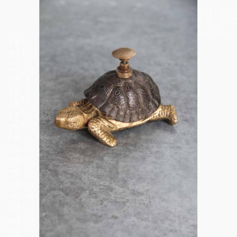 Tortoise Bell In Antiqued Bronze
