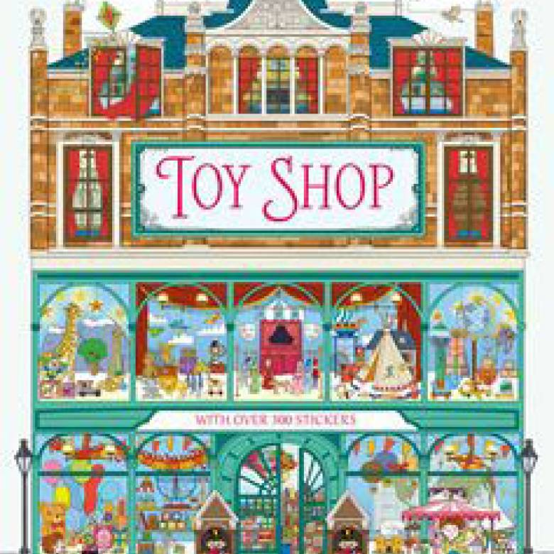 Toy Shop - Dolls House Sticker Book