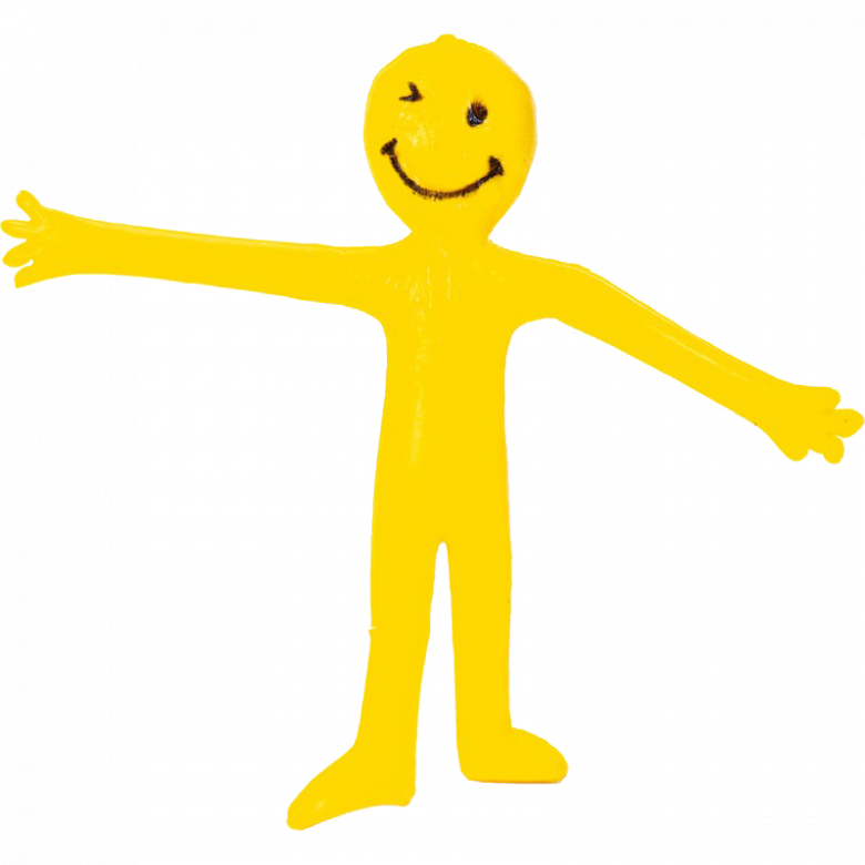 Toy Smiley Stretchy Man