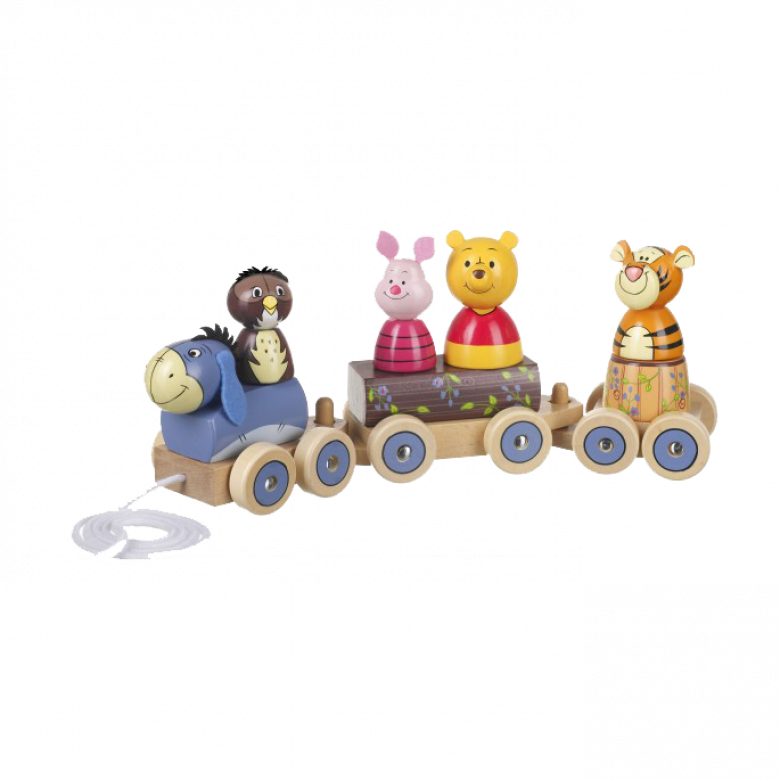 Winnie The Pooh Puzzle Train 1+