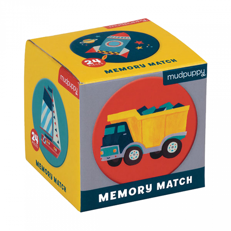Transportation - Mini Memory Game 3+
