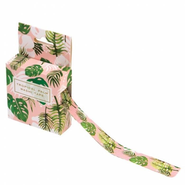 Tropical Palm Washi Tape