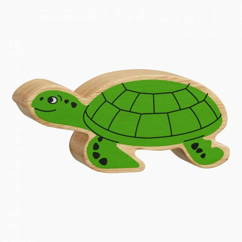 Turtle Wooden Painted Animal Fairtrade Lanka Kade