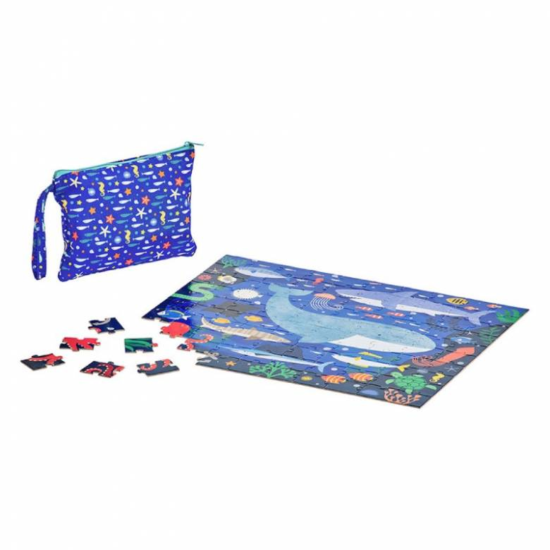 Two Sided On The Go Puzzle - Under The Sea 3+