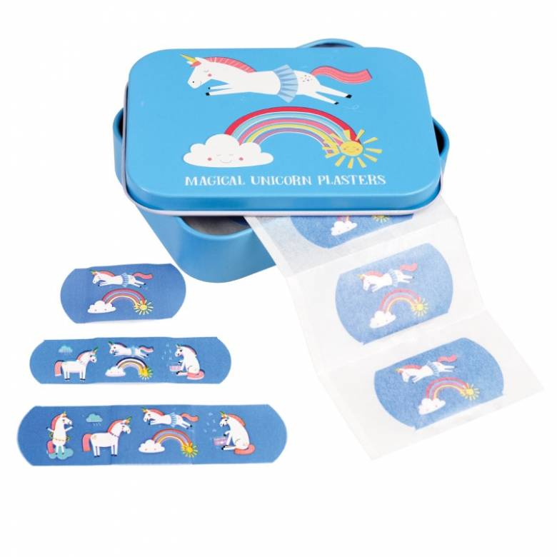 Unicorn Plasters In A Tin