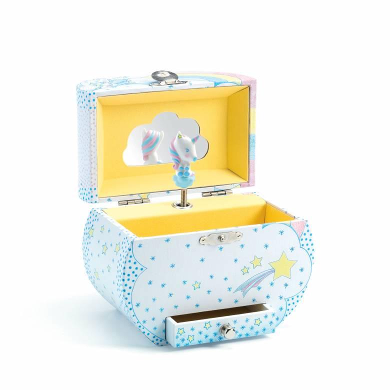 Unicorn's Dream Music Box By Djeco