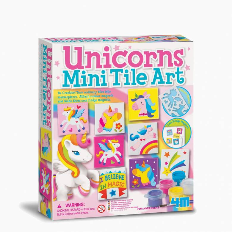 Unicorns - Mini Tile Art Kit 8+