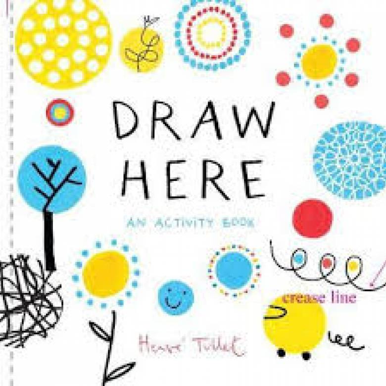 Draw Here - Paperback Book