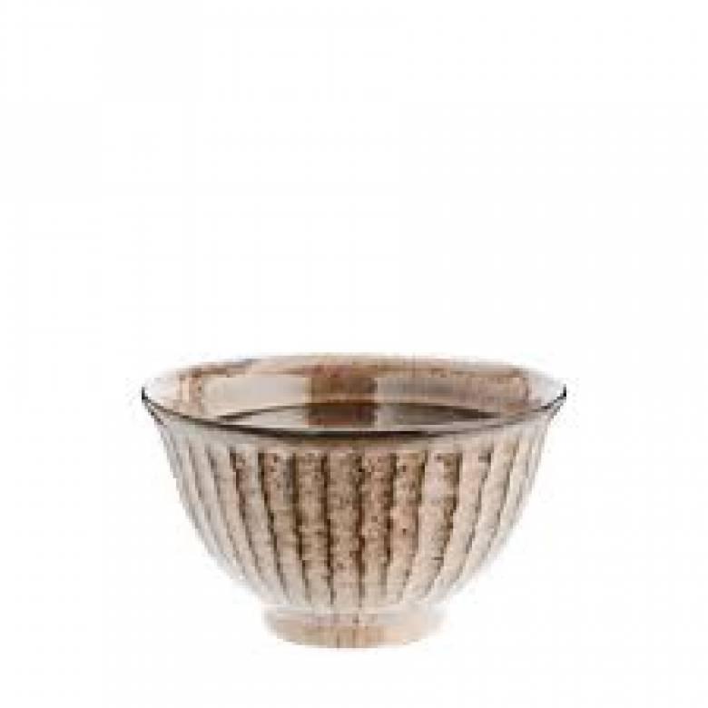 Mushroom Stoneware Bowl