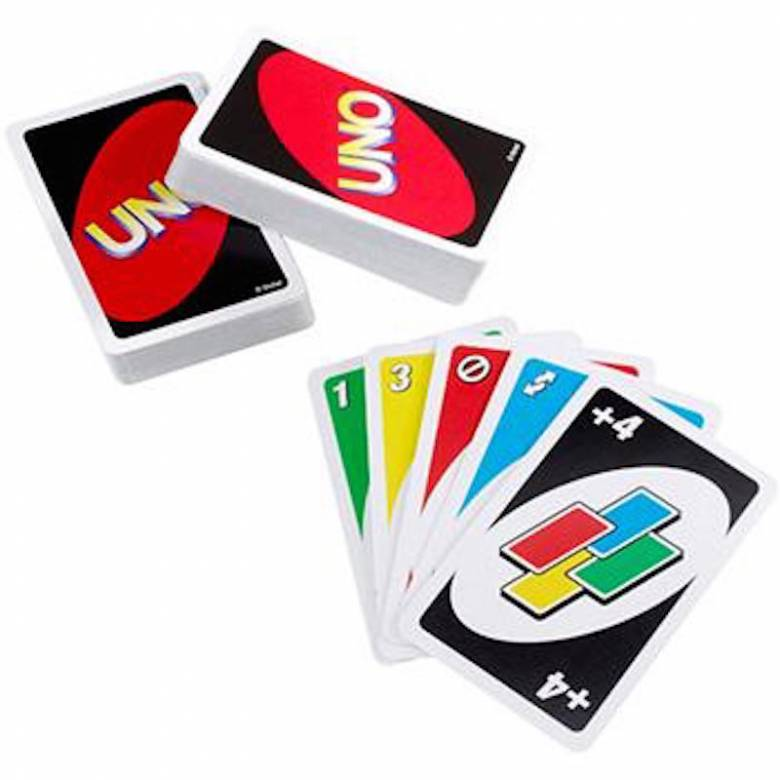 Uno Card Game 7+