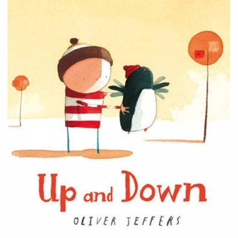 Up And Down By Oliver Jeffers - Board Book