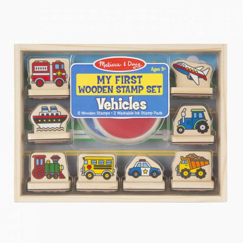 Vehicles - My First Stamp Set By Melissa & Doug