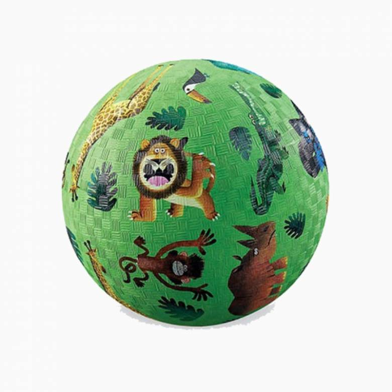 Very Wild Animals - Small Rubber Picture Ball 13cm
