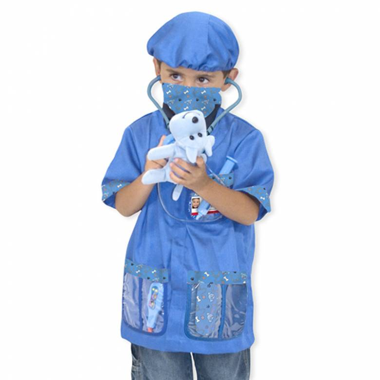 Fancy Dress Role Play Costume Set - Veterinarian
