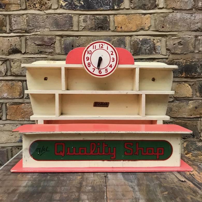Vintage 1950s Toy Quality Shop by Binbak Models