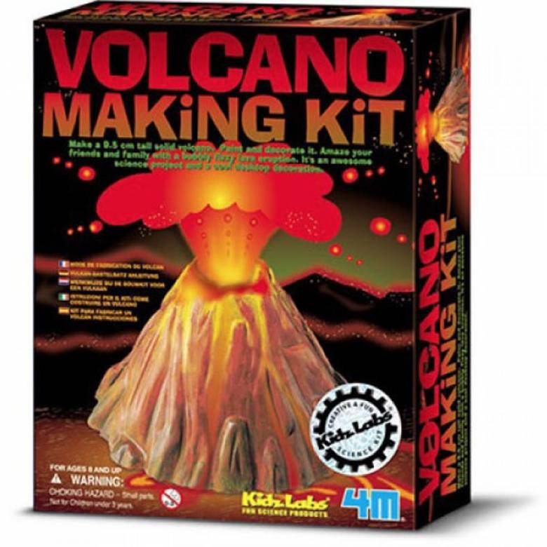 Volcano Making Kit - Kids Labz 8yr+