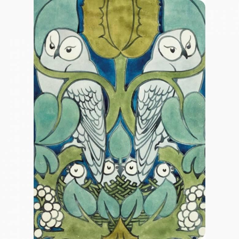 Voysey Owl Mini Notebook