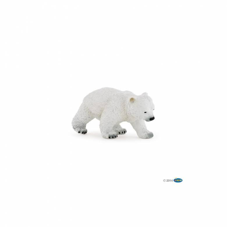 Walking Polar Bear Cub - Papo Wild Animal Figure
