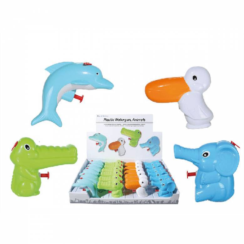 Animal Shaped Plastic Water Gun 3+ VARIOUS