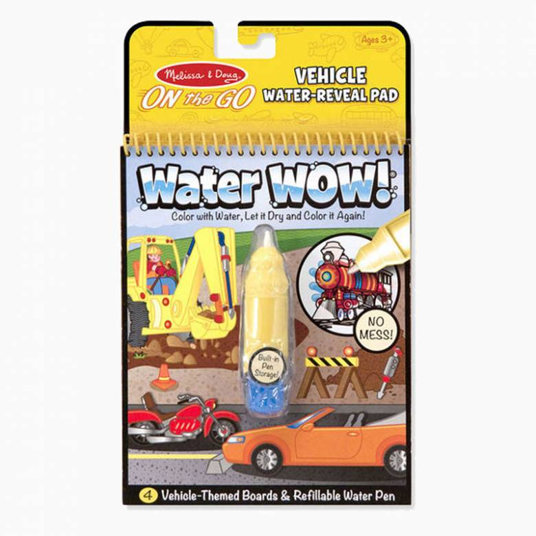 Vehicles - Water Wow! Reusable Boards By Melissa & Doug
