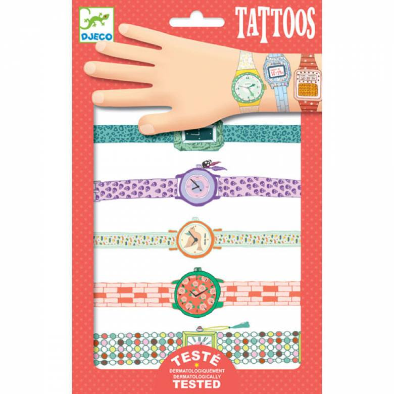 Wendy's Watches Tattoos By Djeco 3+
