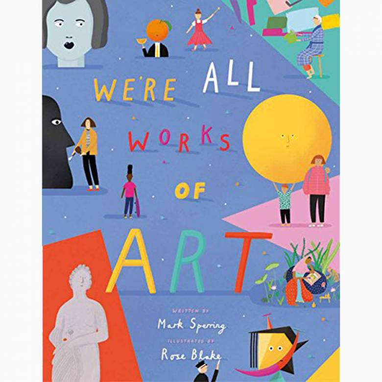 We're All Works Of Art - Paperback Book