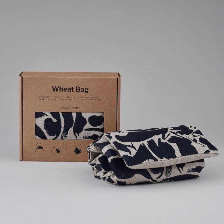Wheat Bag In Navy Creatures Print