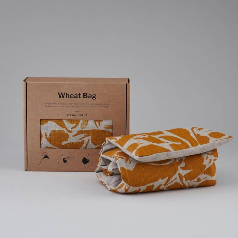 Wheat Bag In Yellow Creatures Print