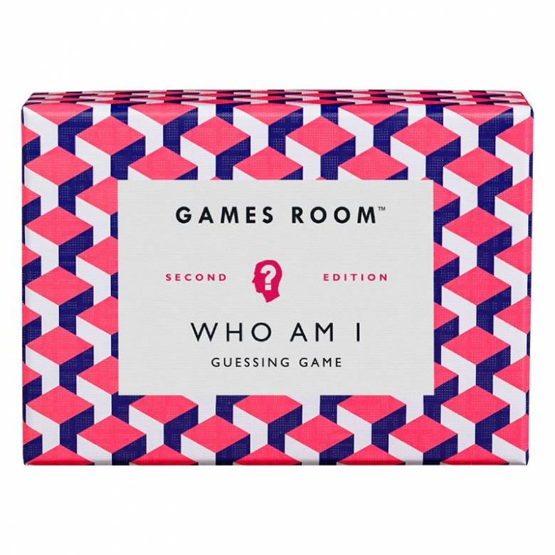 Who Am I Quiz Game In Retro Box