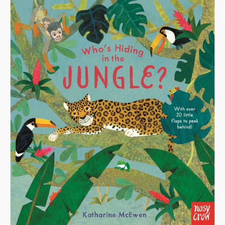 Who's Hiding In The Jungle - Lift The Flap Board Book