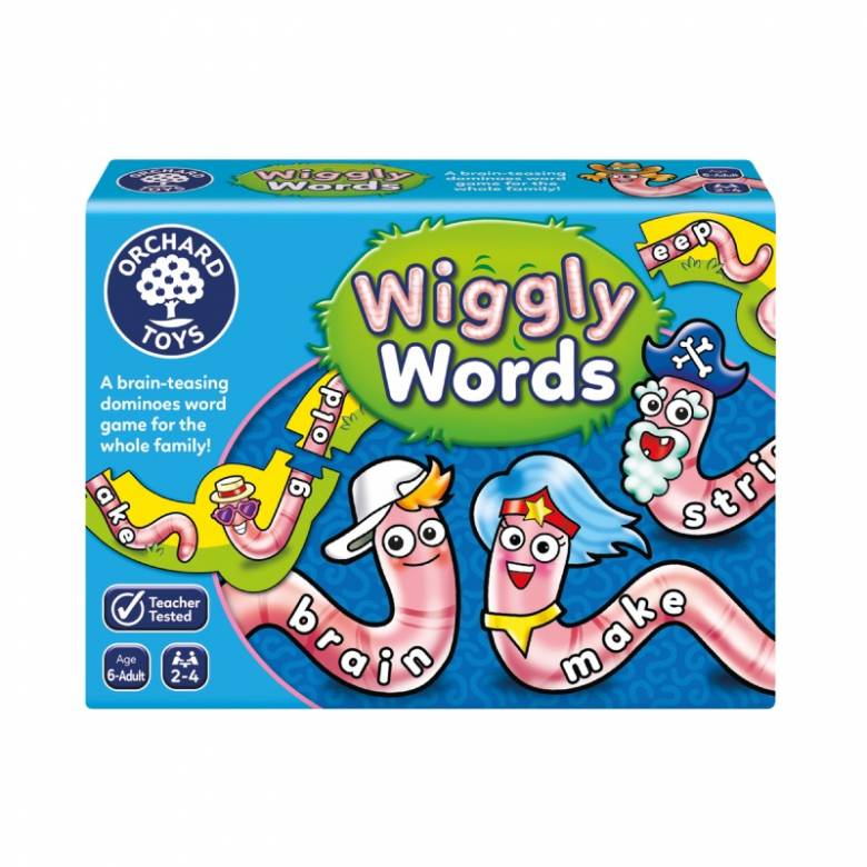 Wiggly Words Game By Orchard Toys 6+