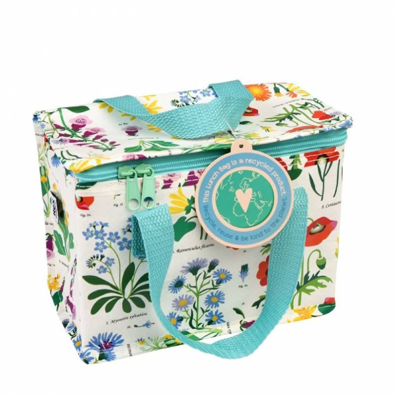 Wild Flowers Insulated Lunch Bag