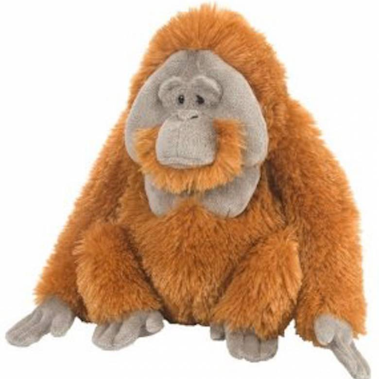 ORANGUTAN 30cm Cuddlekin Animal Soft Toy