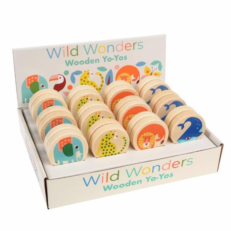 Wild Wonders Wooden Yoyo