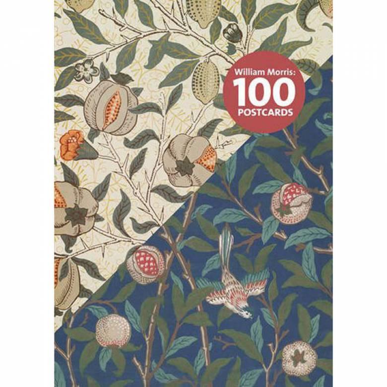 Box Of 100 William Morris Postcards