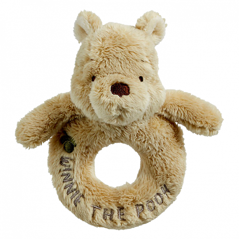 Winnie-The-Pooh Classic Pooh Ring Rattle 0+