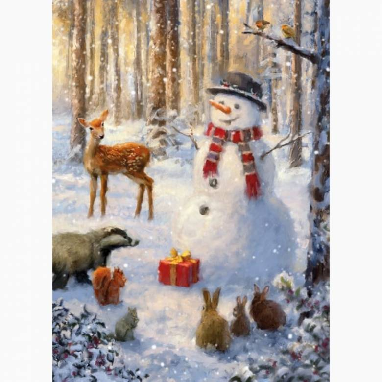 Winter Forest - Pack Of 8 Christmas Cards By Musems & Galleries