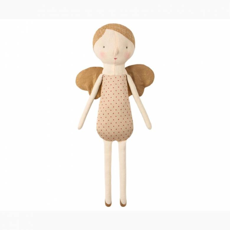 Winter Friends Angel Soft Toy In Red 0+