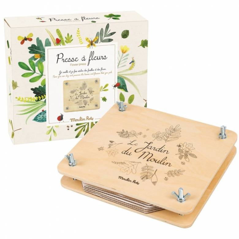 Wooden Flower Press - Boxed 6+