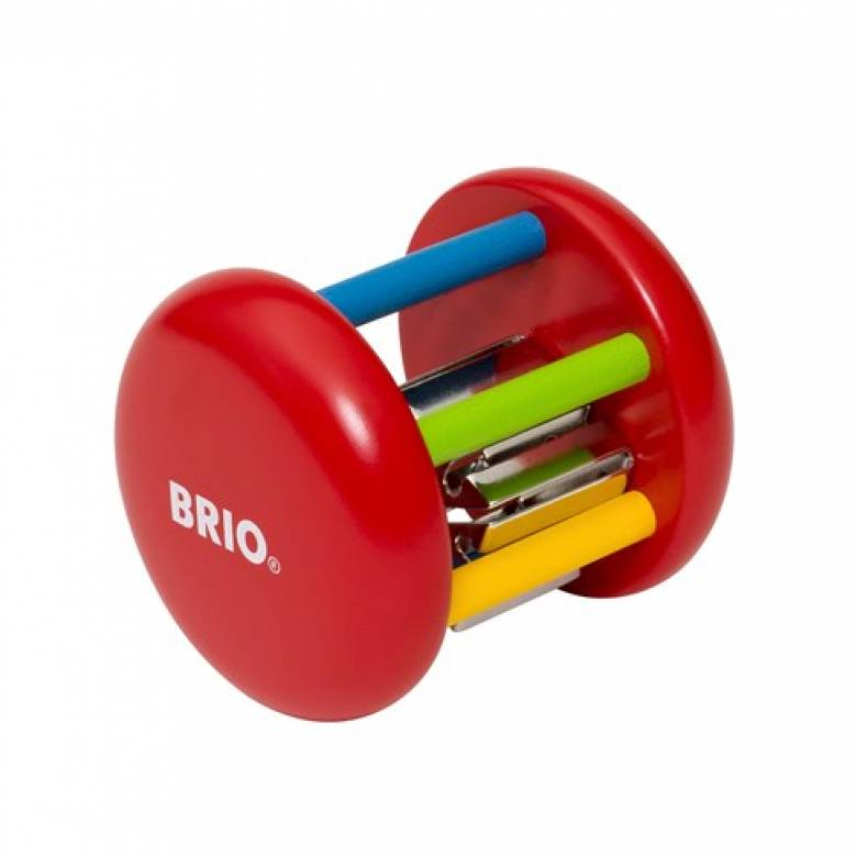 Wooden Multicolored Bell Rattle By BRIO 0+