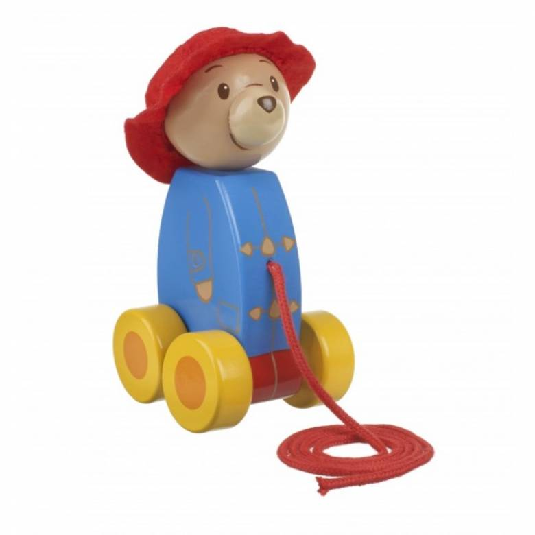 Wooden Paddington Pull Along Toy 1+