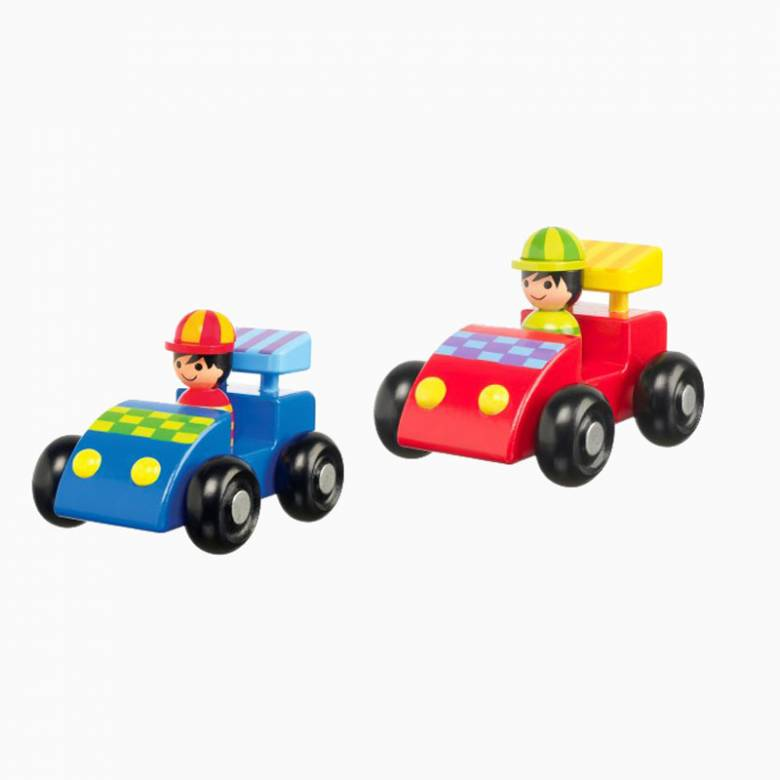 Wooden Racing Cars By Orange Tree 1+