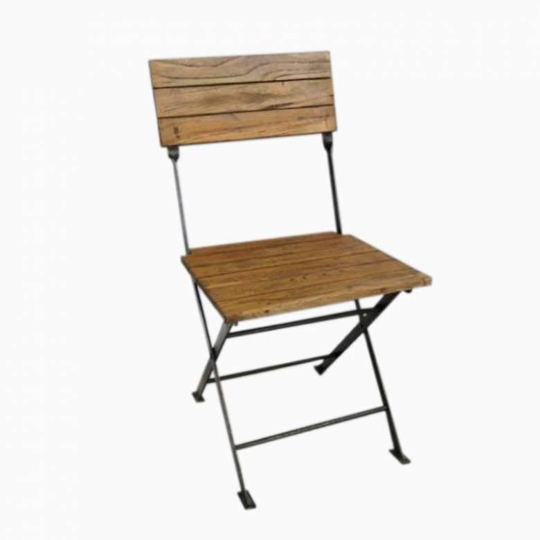 Wooden Slatted Garden Chair
