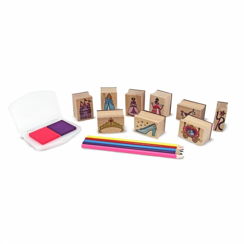 Wooden Stamp Set - Princesses 4+