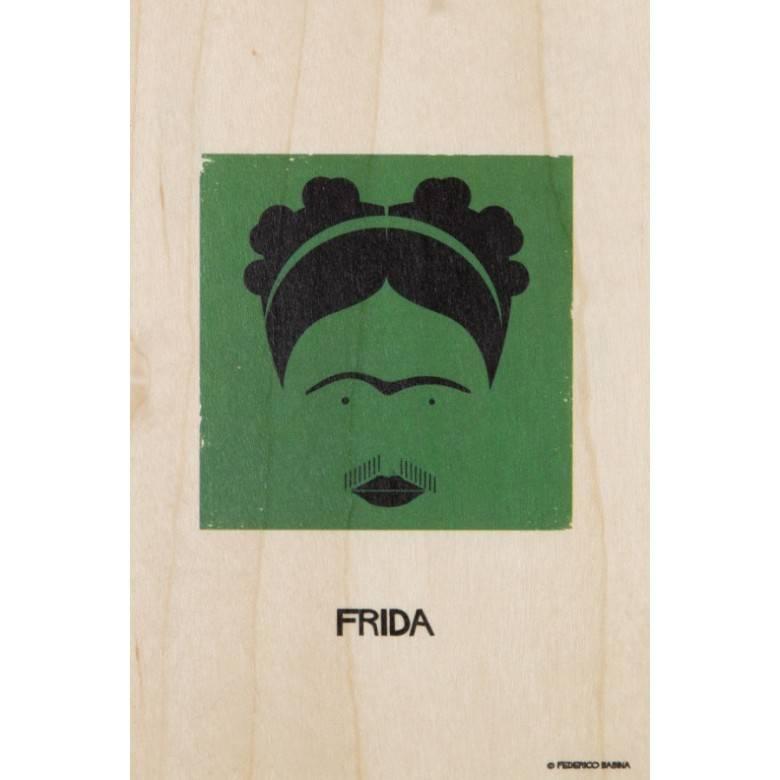 Wooden Veneer Postcard By Woodhi